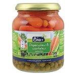 Bio Doperwt wortel