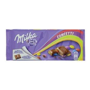 Milka Tablet confetti